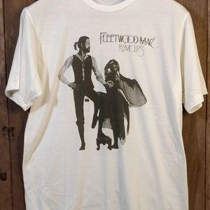 Fleetwood Mac Rumors Men's Large 100% Cotton T